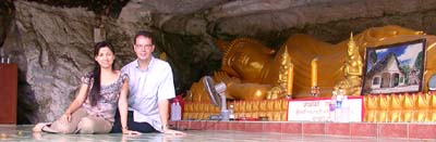 Large Reclining Cave Buddha near Trang
